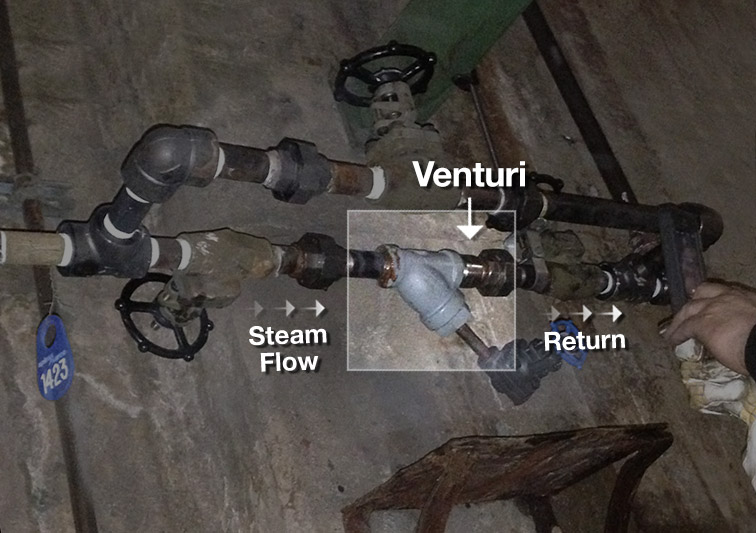 Enercon Venturi Steam Trap